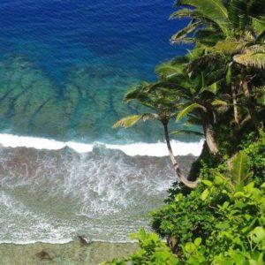 Cliff View of Namua Island