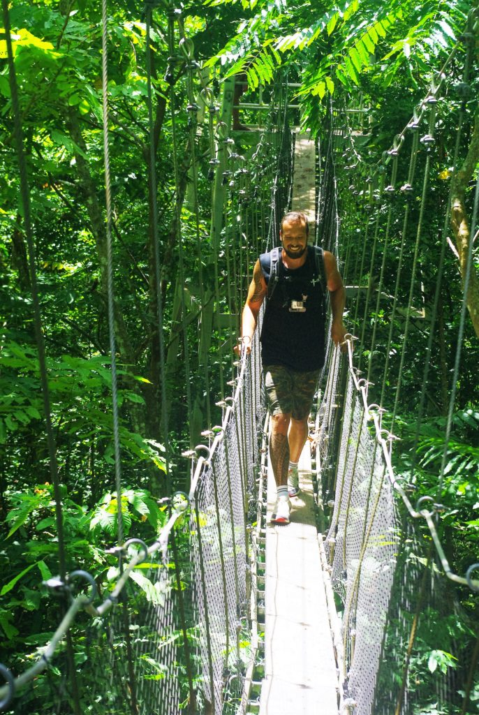 Samoan Adventure Tours Rope Bridge