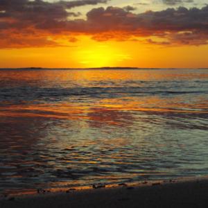 Sunsets in Samoa